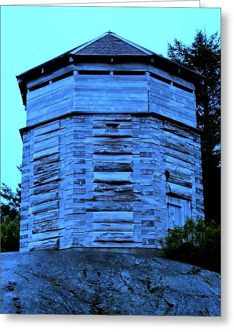 Sitka Greeting Cards - Sitka Stockade 1 Greeting Card by Randall Weidner