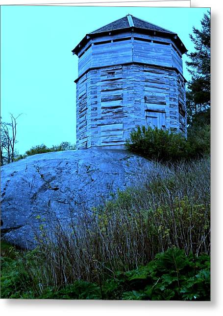 Sitka Greeting Cards - Sitka Stockade 2 Greeting Card by Randall Weidner