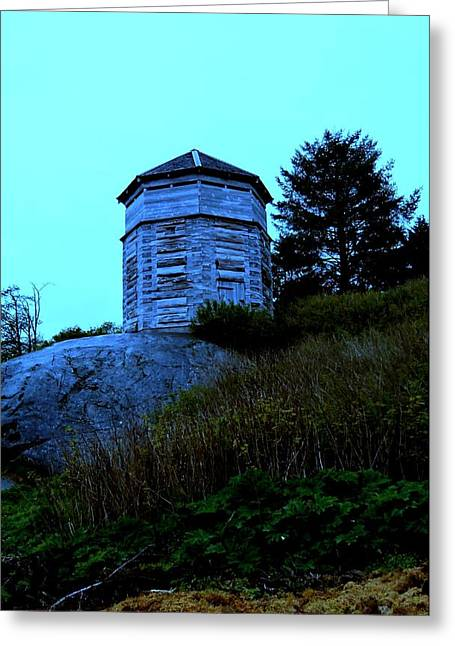 Sitka Greeting Cards - Sitka Stockade 3 Greeting Card by Randall Weidner