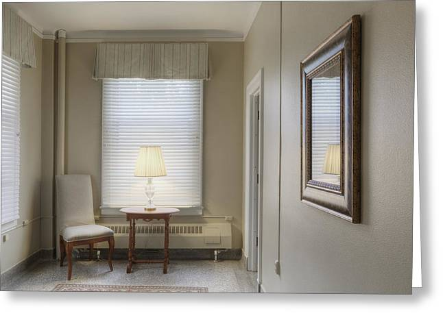 Residential Structure Greeting Cards - Sitting Room Coat Room Or Ante Room Greeting Card by Douglas Orton