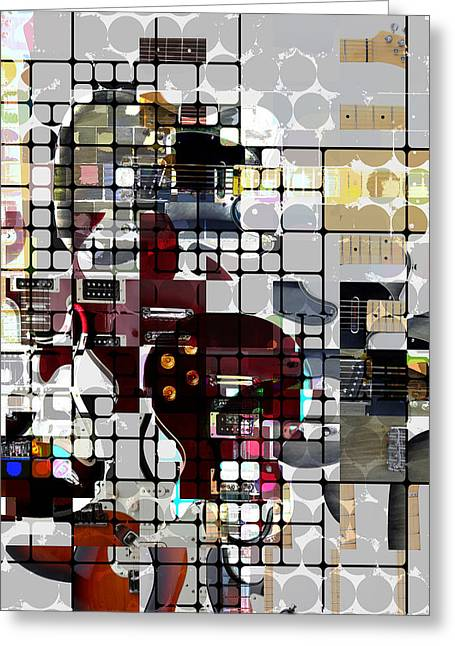 Six String Seduction Greeting Card by Russell Pierce