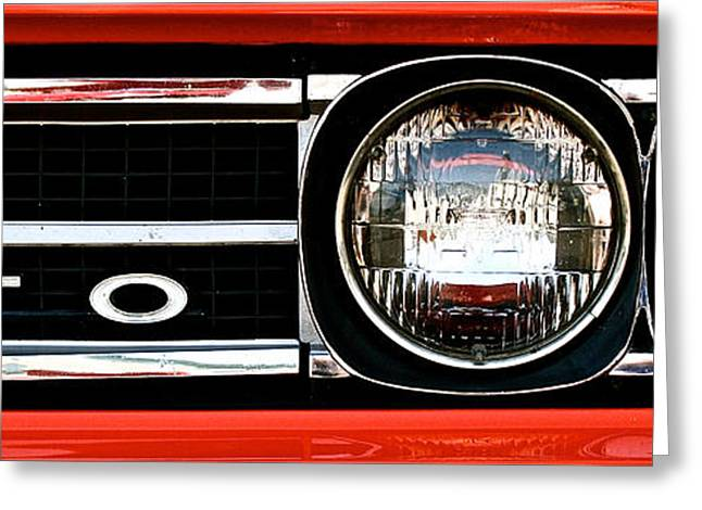 1960 Greeting Cards - Sixties GTO Greeting Card by Susan Herber