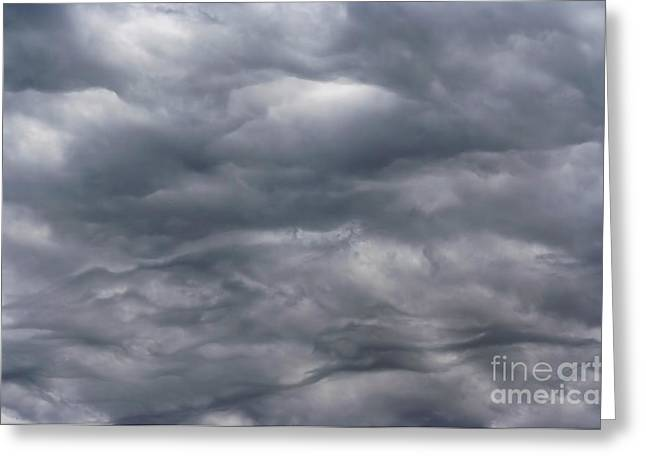 Nimbus Greeting Cards - Sky Before Rain Greeting Card by Michal Boubin