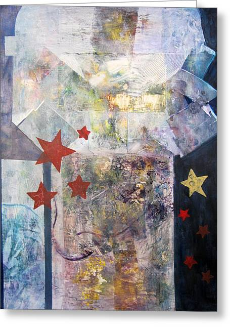 Origional Greeting Cards - Skyscape Greeting Card by Phyllis Coniglio