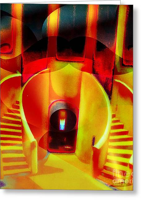 Creolization Greeting Cards - Slave House in Goree Island Greeting Card by Fania Simon