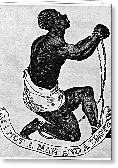 My Countrymen In Chains Greeting Cards - Slavery: Abolition, 1835 Greeting Card by Granger