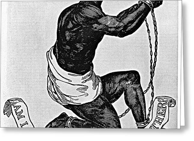 SLAVERY: ABOLITION, 1835 Greeting Card by Granger