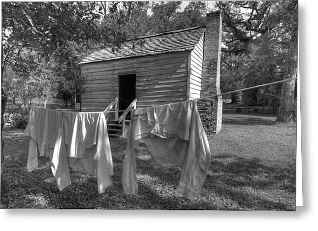 Slave's Quarters Greeting Card by Bourbon  Street