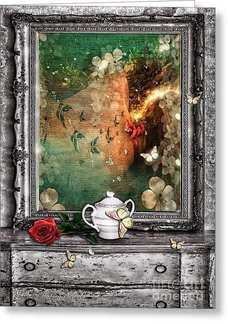 Mo T Digital Art Greeting Cards - Sleeping Beauty Greeting Card by Mo T