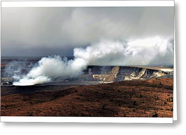 Eruption Greeting Cards - Sleeping Giant Greeting Card by Ryan Wyckoff