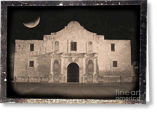 Carol Groenen Greeting Cards - Sleeping Spirit of the Alamo Greeting Card by Carol Groenen