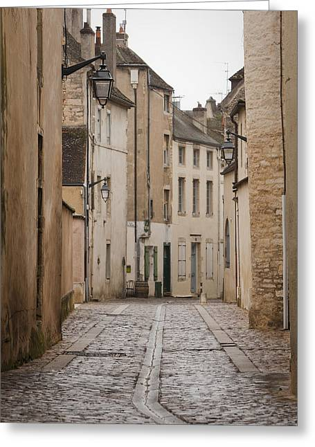 Sleepy France Greeting Card by Jonathan Ellison