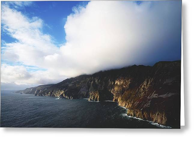 Slieve League, County Donegal, Ireland Greeting Card by The Irish Image Collection