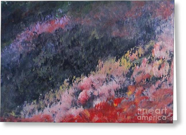 Trilby Cole Greeting Cards - Slopes of Romania Greeting Card by Trilby Cole