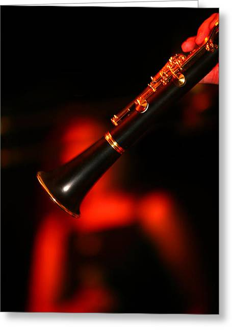 Neoichi Greeting Cards - Slow Jazz Greeting Card by Lon Casler Bixby