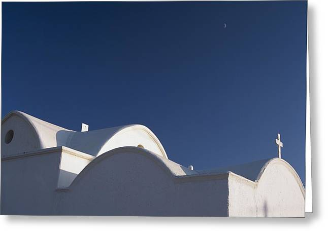 Dodecanese Greeting Cards - Small Church At Plimiri Greeting Card by Axiom Photographic
