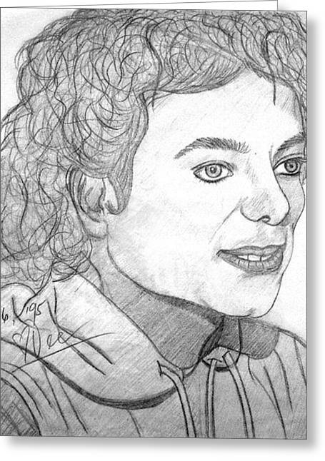 Mj Drawings Greeting Cards - Smile Greeting Card by Dee Conroy