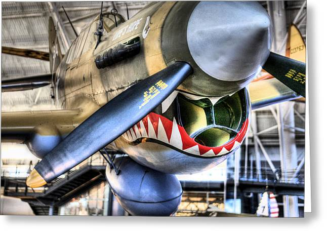 Flying Tigers Greeting Cards - Smithsonian Air and Space Greeting Card by JC Findley