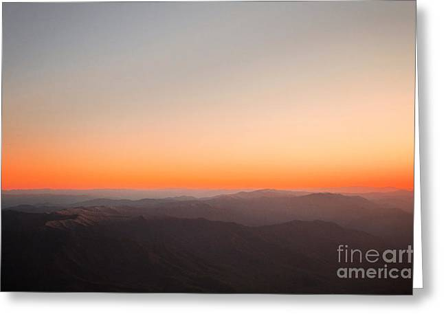Smoky Greeting Cards - Smoky Mountain Sunset Greeting Card by Kim Fearheiley