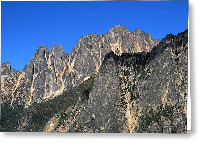 Snagtooth Ridge North Cascades National Park Greeting Card by Pierre Leclerc Photography