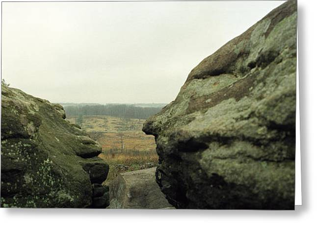 Recently Sold -  - Devils Den Greeting Cards - Snipers Nest Greeting Card by Jan Faul
