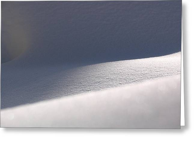 Weather Photographs Greeting Cards - Snow Dreams Greeting Card by Juergen Roth