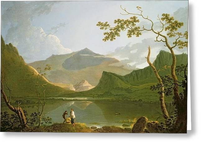 Welsh Reservoirs Greeting Cards - Snowdon Greeting Card by Richard Wilson