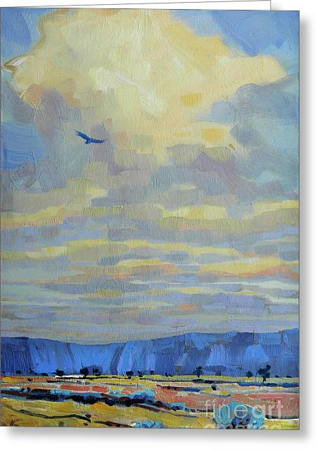 Soaring Greeting Card by Donald Maier