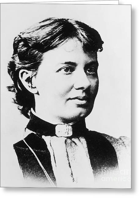 Rotation Greeting Cards - Sofia Kovalevskaya, Russian Greeting Card by Science Source