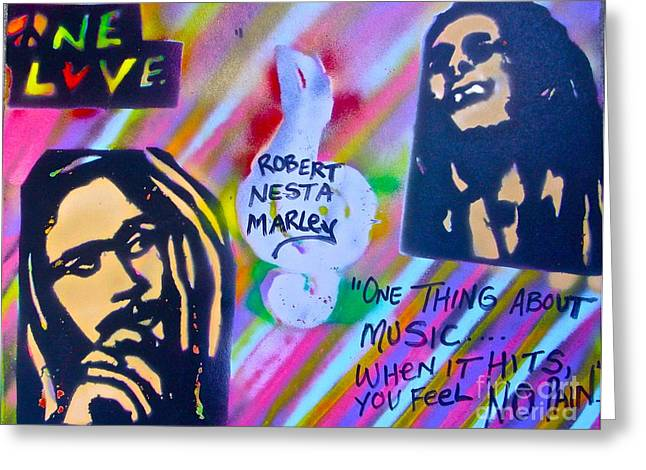 First Amendment Greeting Cards - Soft Marley Greeting Card by Tony B Conscious