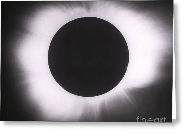 Solar Eclipse With Outer Corona Greeting Card by Science Source
