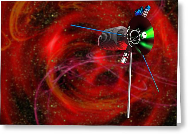 Astronomical Research Greeting Cards - Solar Probe Greeting Card by Victor Habbick Visions