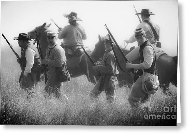 Soldiers Greeting Card by Kim Henderson