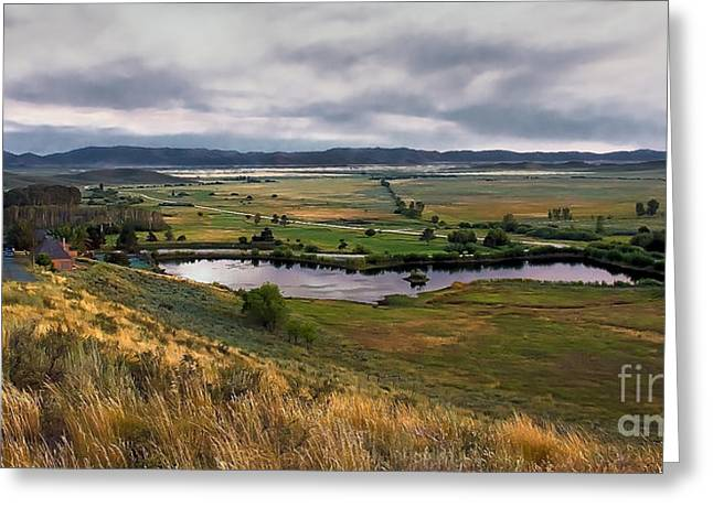 Solider Greeting Cards - Solider Mountain Ranch Greeting Card by Robert Bales