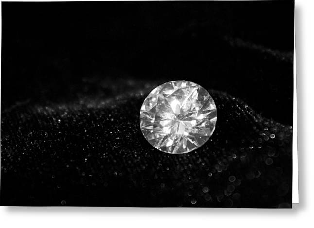Precious Gem Greeting Cards - Solitaire Greeting Card by Kristin Elmquist