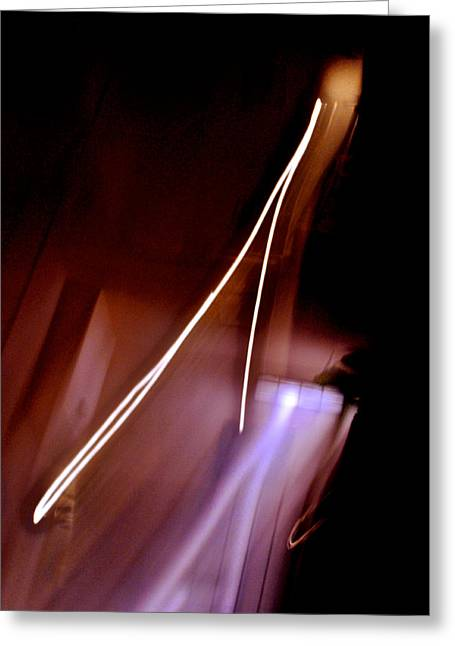 Inner Reality Greeting Cards - Solitary Thrust Greeting Card by Henry Rowland