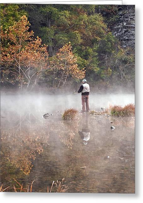 Solitude Greeting Card by Cindy Rubin