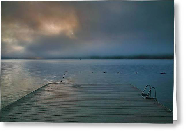 Finger Lakes Greeting Cards - Solitude I Greeting Card by Steven Ainsworth