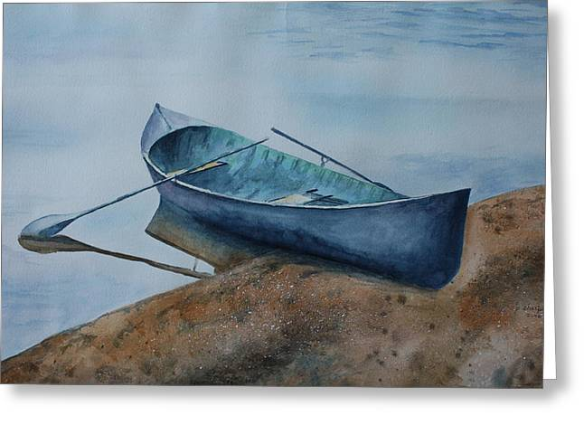 Solitude Greeting Card by Patsy Sharpe