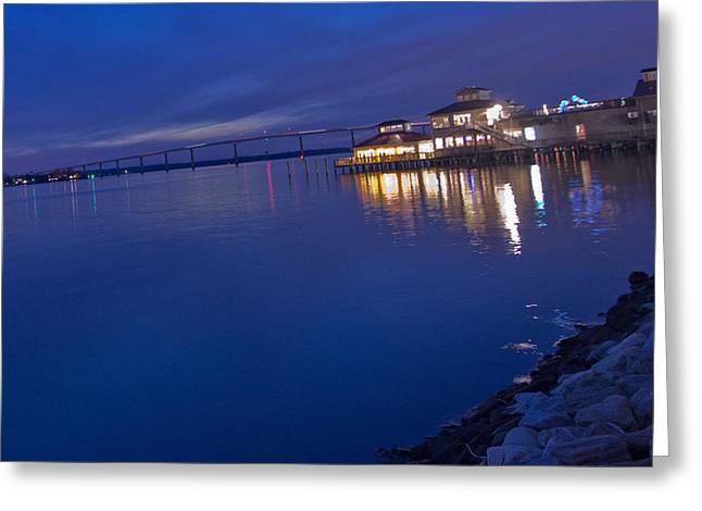 Tj Greeting Cards - Solomons Island Greeting Card by Kelly Reber