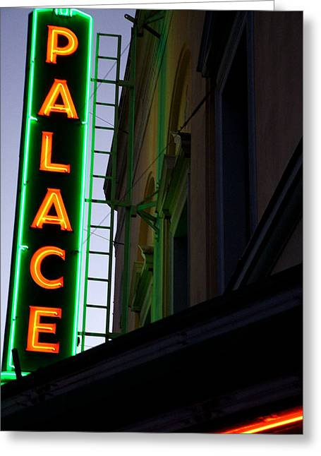 Theater Greeting Cards - Someday Palace Greeting Card by John Loyd Rushing