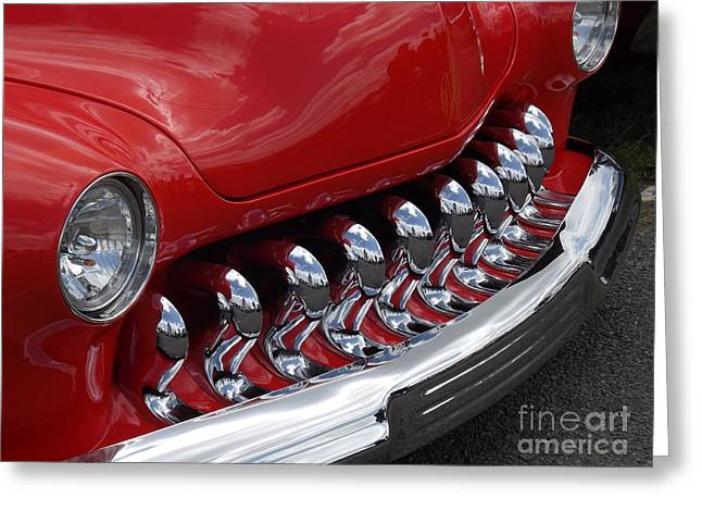 50 Merc Greeting Cards - Something Bout A Mercury Greeting Card by Chad Thompson
