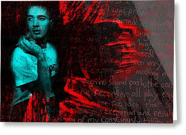 Red Hot Chili Peppers Greeting Cards - Something Different Greeting Card by Dora Szabolcsi