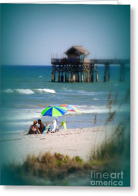 People At The Beach Greeting Cards - Something to dream about Greeting Card by Susanne Van Hulst