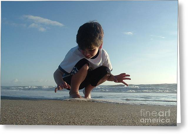 Son Of The Beach Greeting Card by Jack Norton