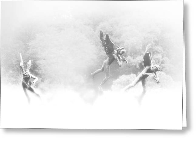 Song of the Angels Greeting Card by Bill Cannon