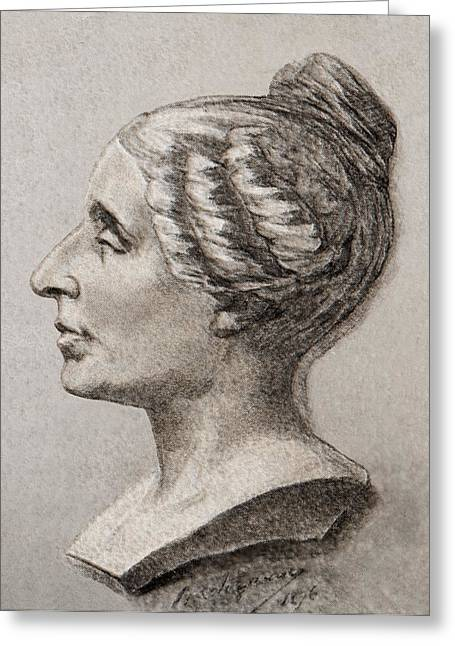 Sophie Germain (1776- 1831), Greeting Card by Sheila Terry