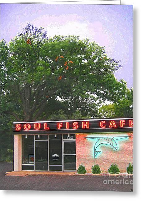 Soul Fish Greeting Card by Lizi Beard-Ward