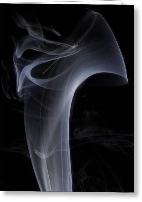 Smoke Art Greeting Cards - Soul Man Greeting Card by Bryan Steffy