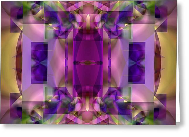 All Over Pattern Greeting Cards - Soul Sanctuary 6 Greeting Card by Lynda Lehmann